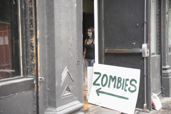 Zombies Take To The Streets In Celebration Of Zynga's Latest Mobile Game Zombie Swipeout