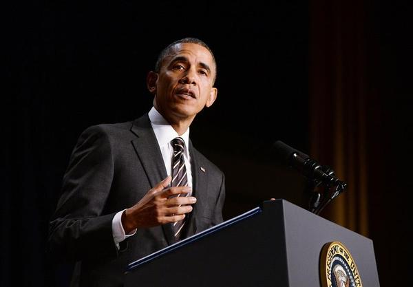 President Obama at 2014 Prayer breakfast